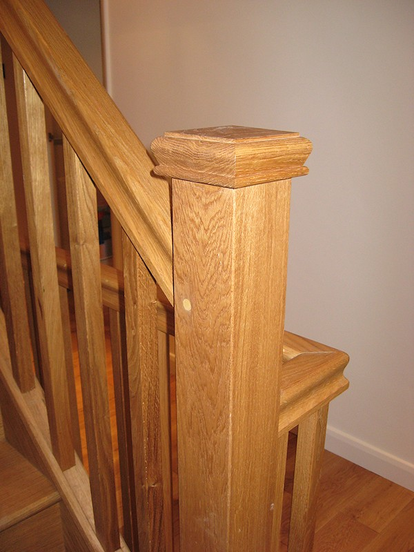 A double turn staircase with quarter landings, for a loft conversion.
