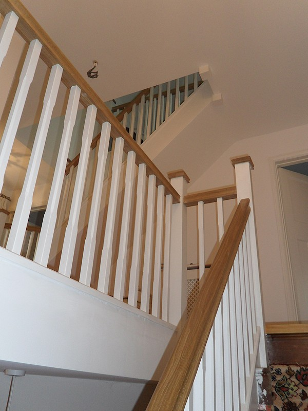 loft conversion designs examples - Santer Joinery Staircase Blackwell Dec 2011